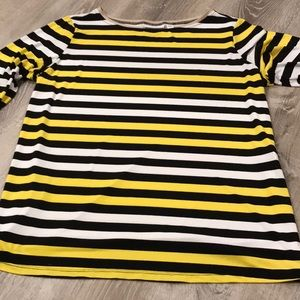 🖤💛 Susan Graver~~Tunic Style Top~~🖤💛